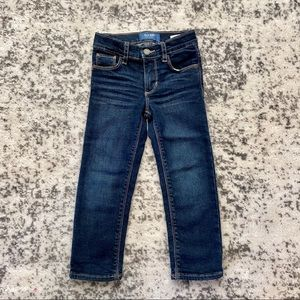Old navy dark denim jeans boy 4T